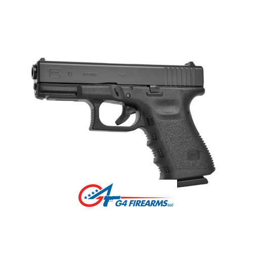 Glock 19 at G4 Firearms in Santa Rosa, CA.